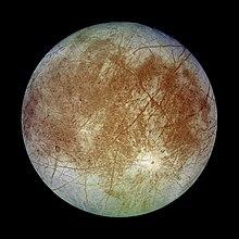 Moons of Jupiter - Europa
