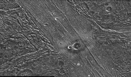 Moons of Jupiter - Ganymede's Surface