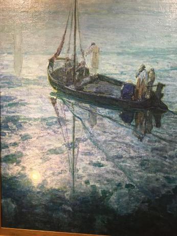 Jesus Walks on Water - H Tanner