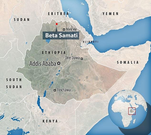 Beta Samati Map